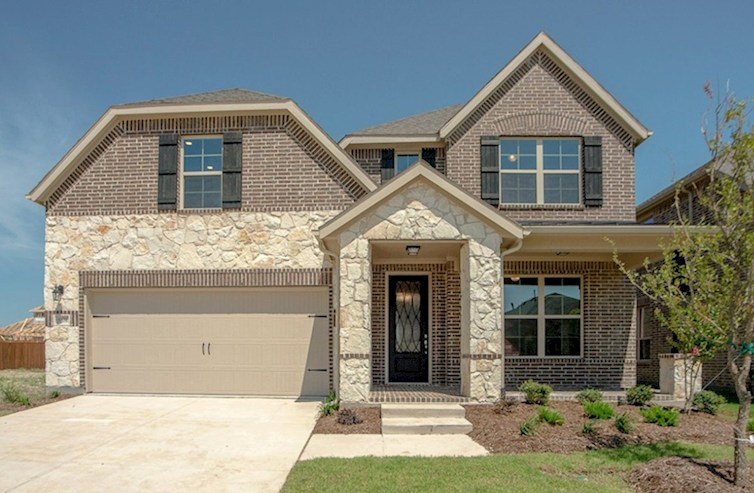 Brookhaven Elevation French Country Q quick move-in