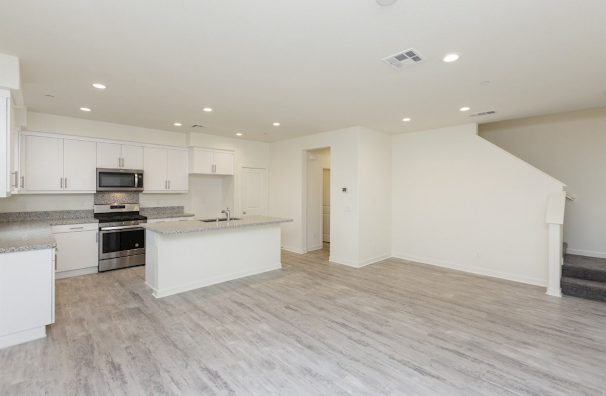 Pinyon quick move-in Enjoy casual dining in open-concept kitchen
