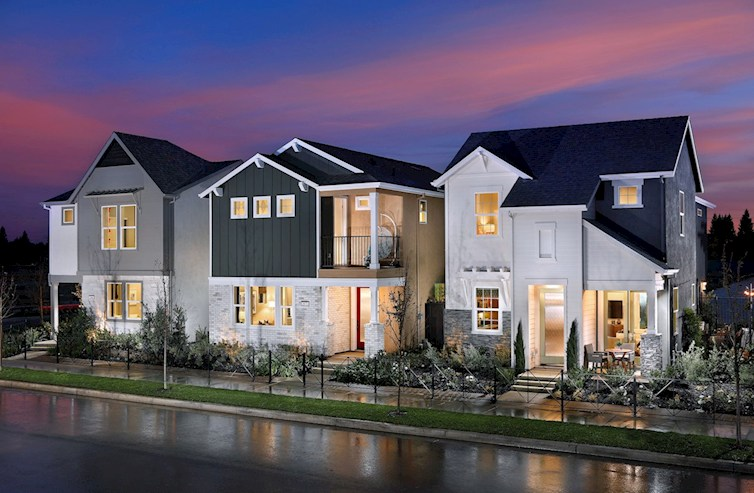 windrow model homes exterior