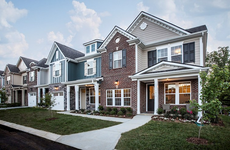 Spring Creek Laurel Townhome Elevations
