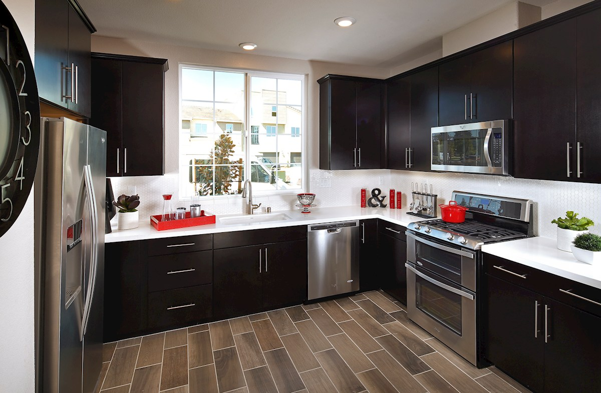 Capital Village Residence 2 spacious kitchen