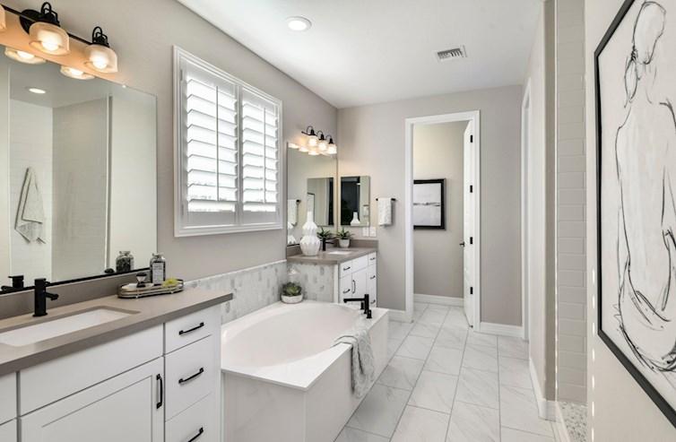 Rockwell Master Bathroom