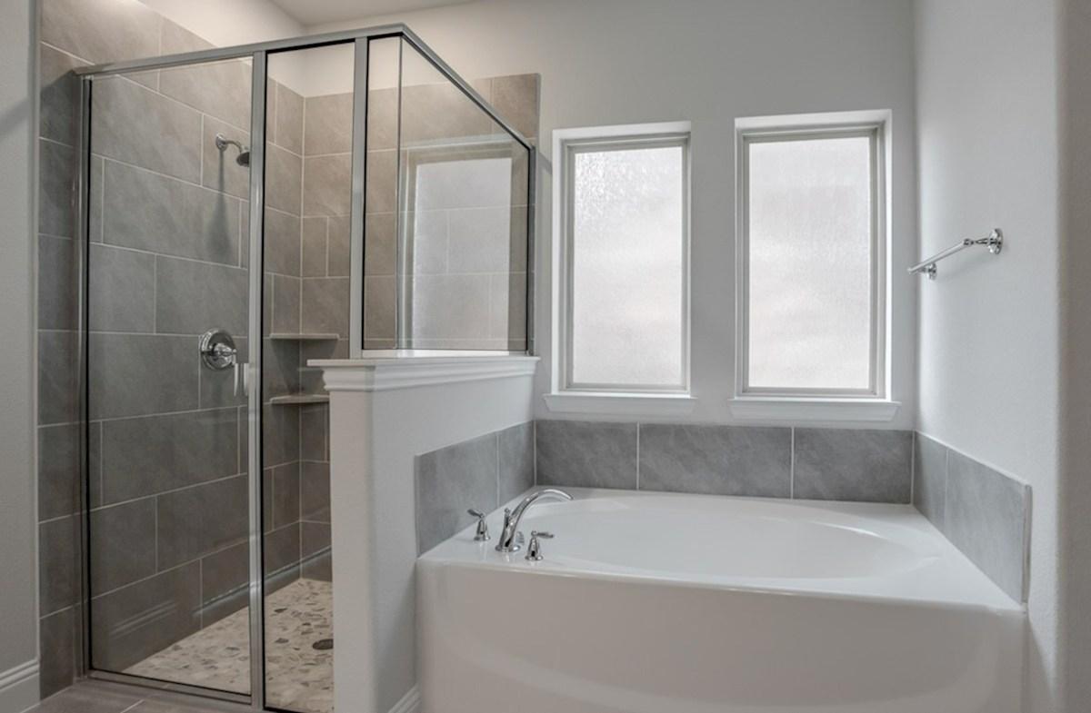 Blackburn quick move-in Blackburn master bathroom with separate tub and shower