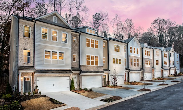Walk through video of three-story townhome
