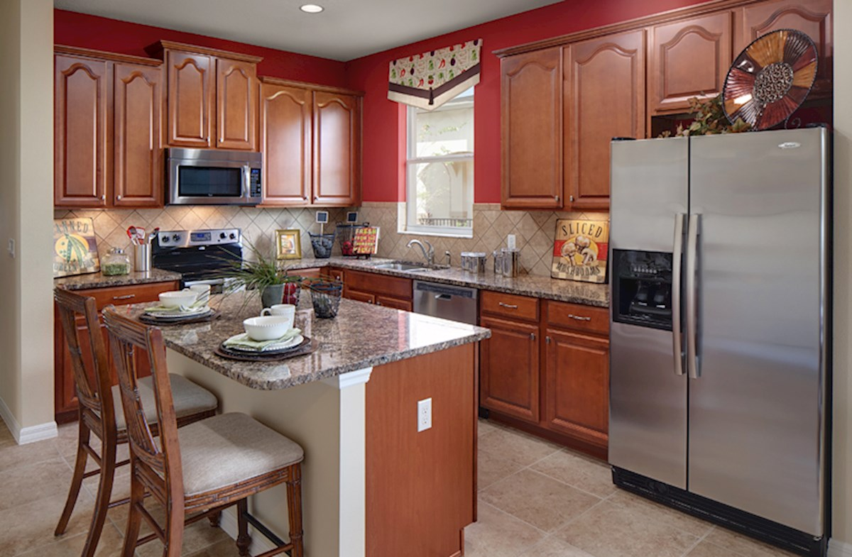 Reserve at Sawgrass St Augustine II kitchen with stainless appliances