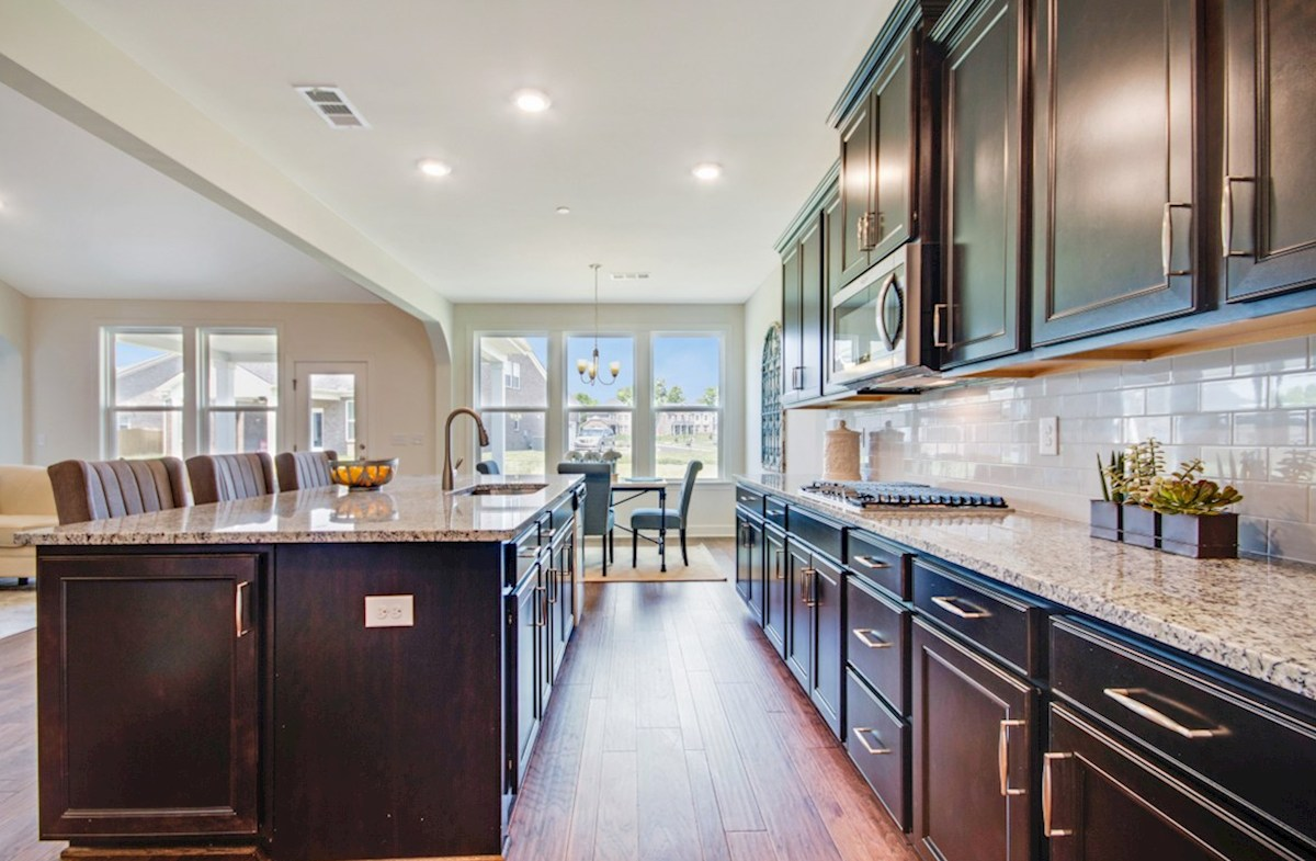 Greenwich quick move-in gracious kitchen for entertaining