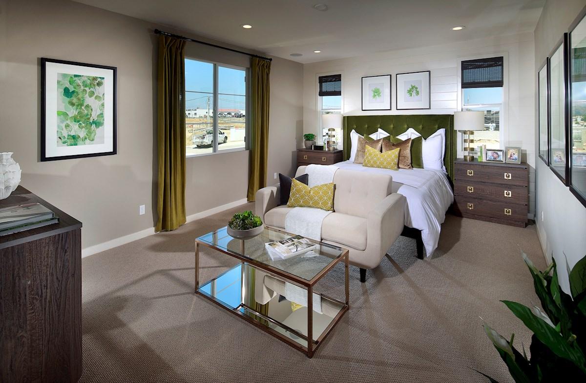 Mission Lane Peony comfortable master bedroom