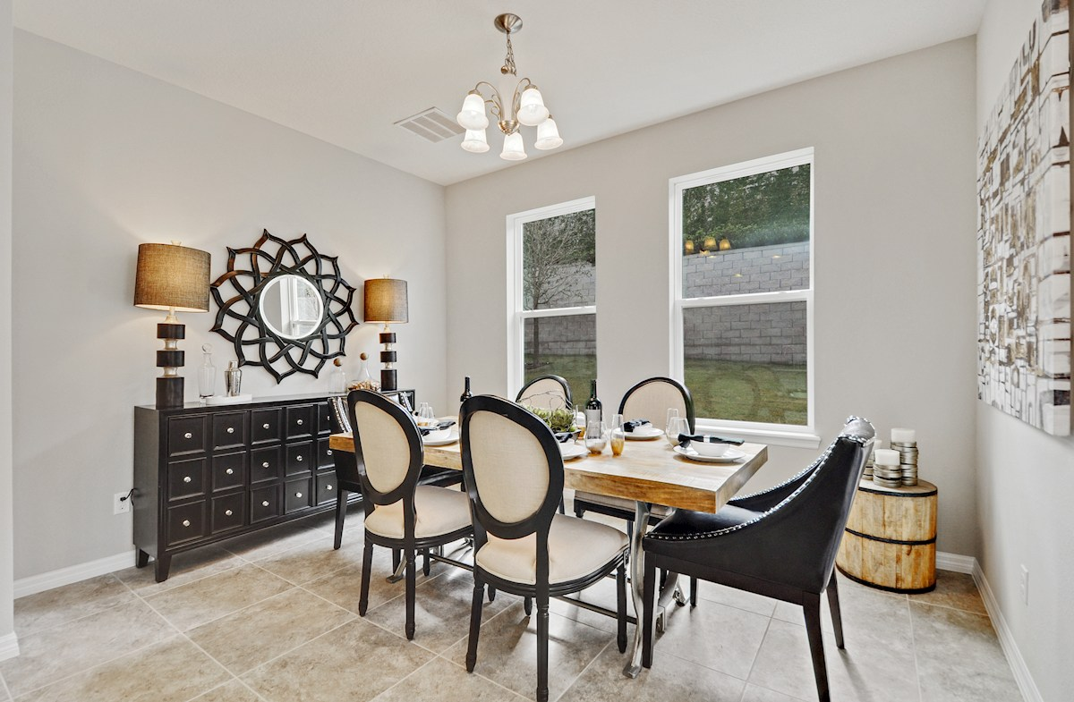 Harvest Landing Jessup III light-filled dining room