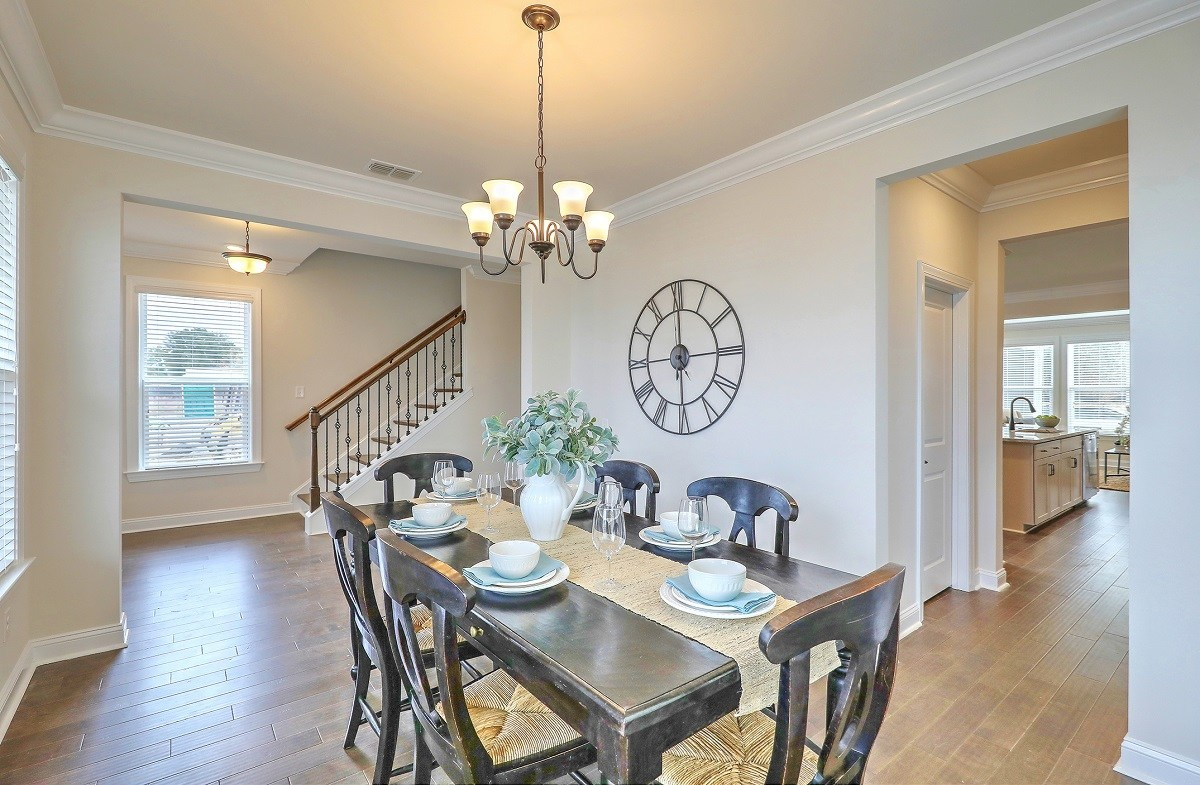 Middleton quick move-in formal dining room