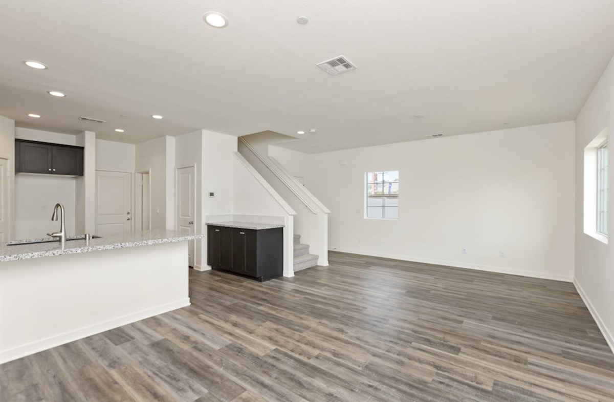 Bristol quick move-in Spacious great room for entertaining
