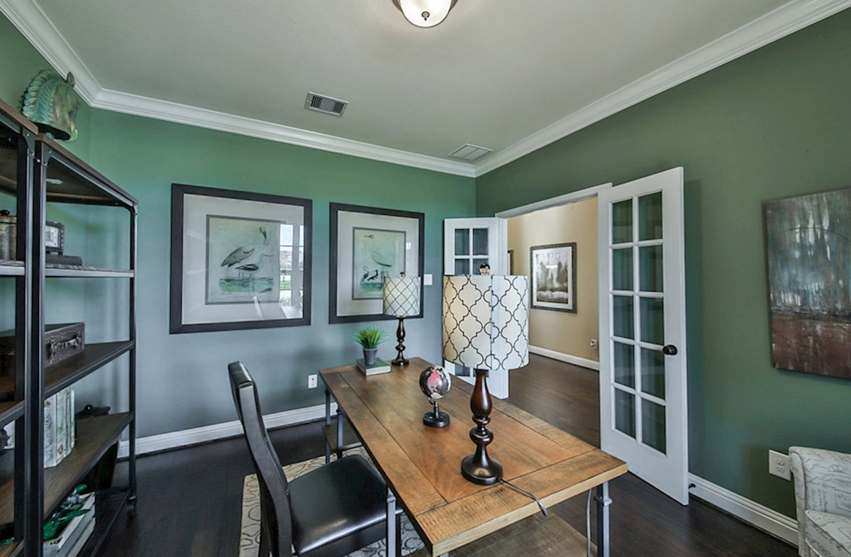Galveston quick move-in Galveston study with French doors