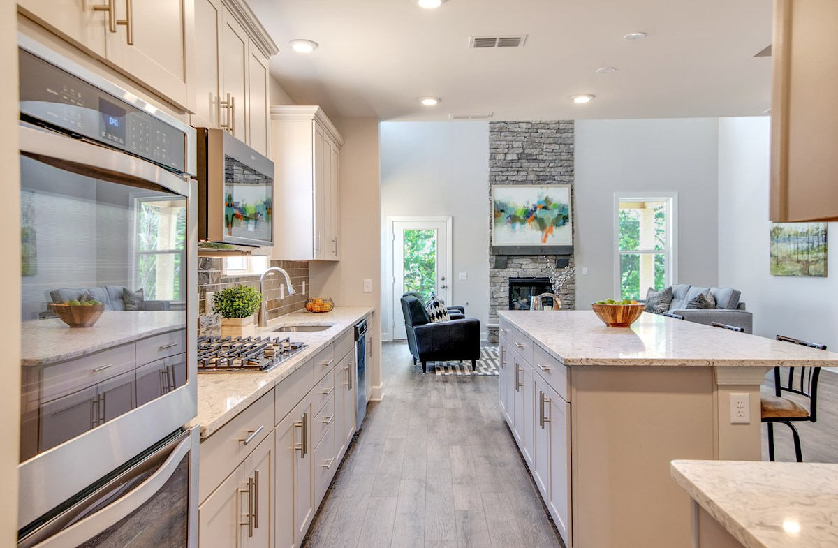 gracious kitchen and great room