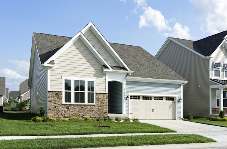 Darley II  Elevation French Country quick move-in