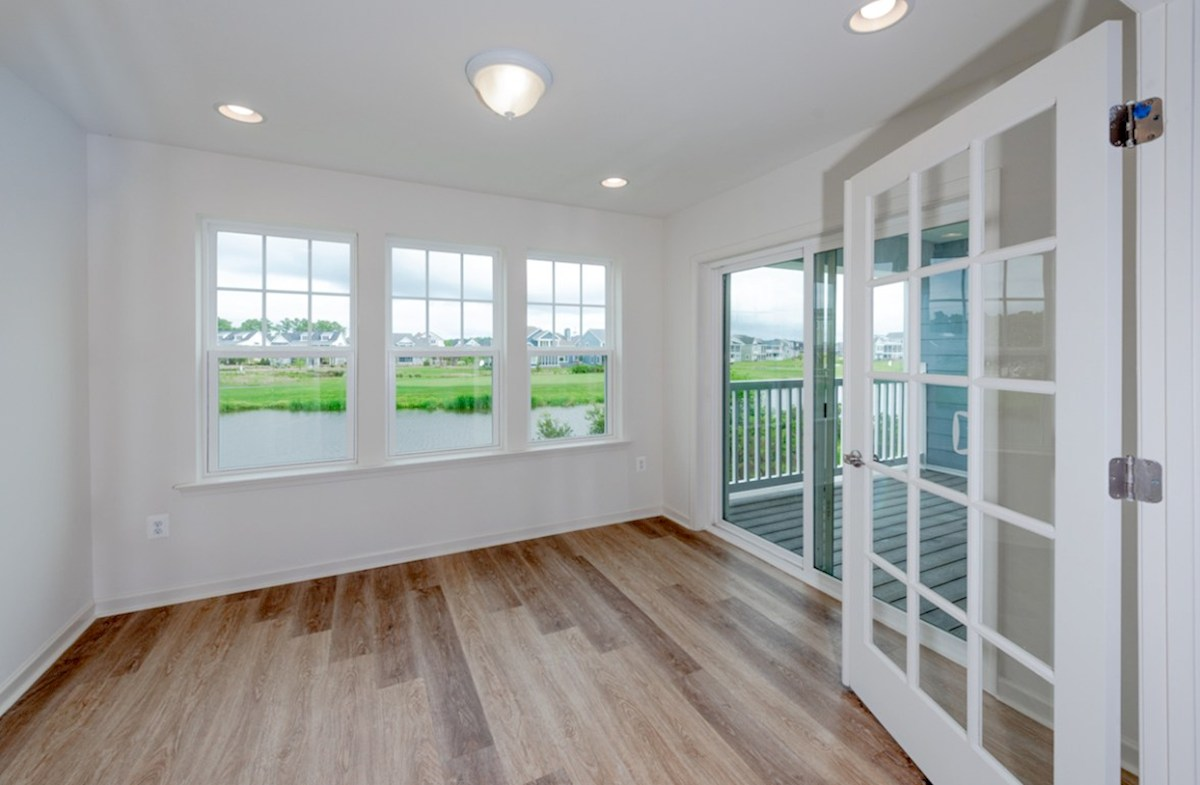 Fenwick quick move-in Plenty of natural light in the sunroom