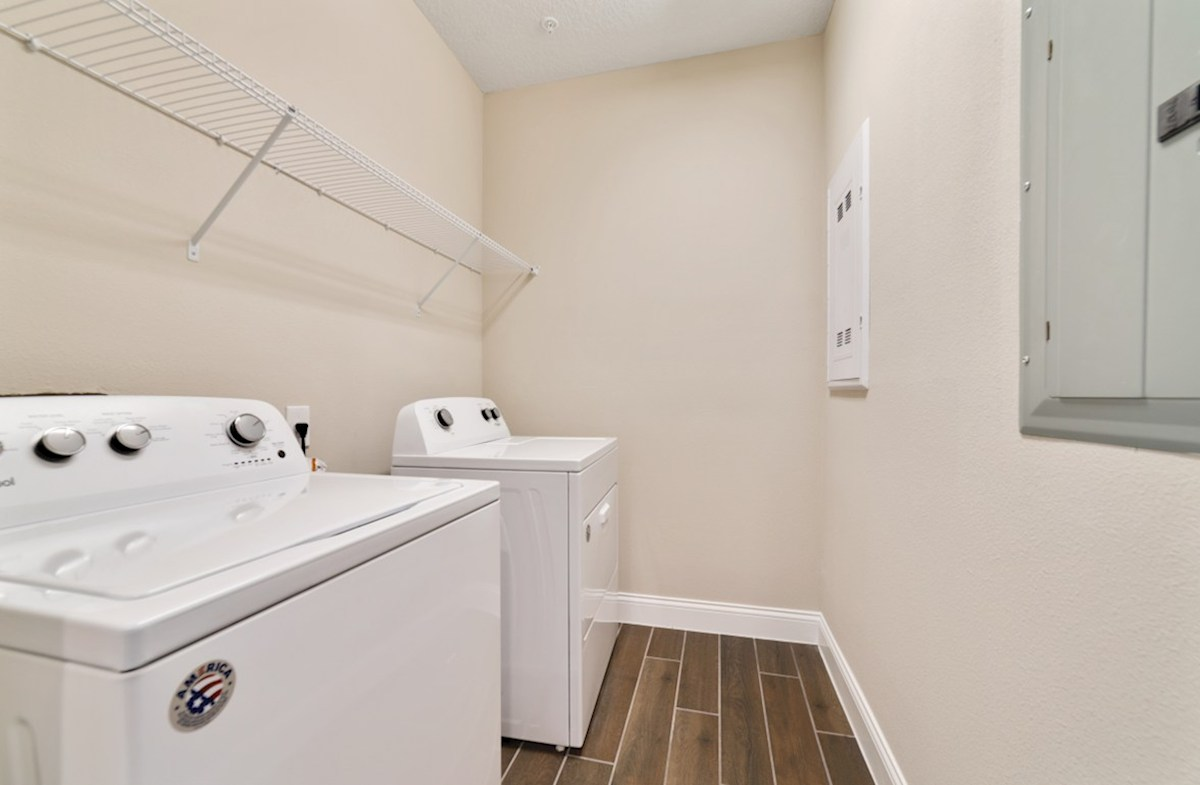 Dogwood quick move-in laundry room