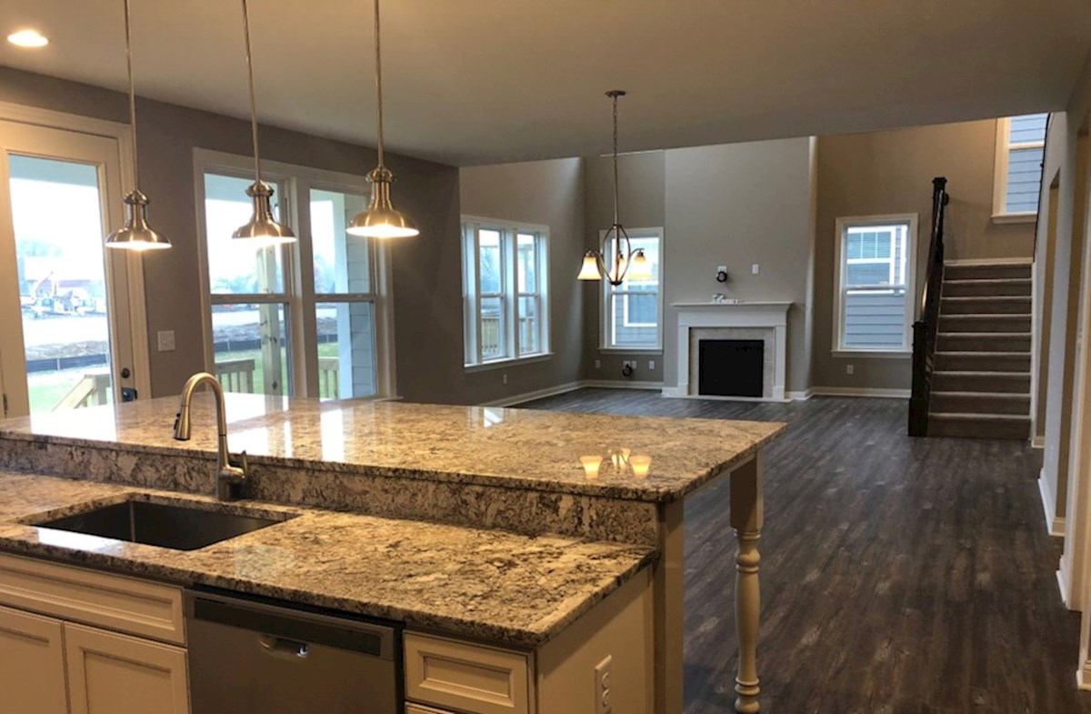 Oakhill quick move-in Open concept kitchen for the entertainer