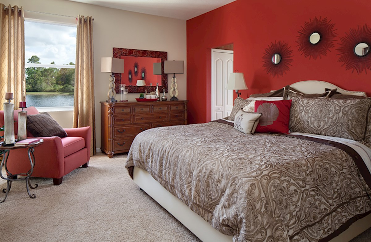 Reserve at Sawgrass St Augustine II serene master bedroom