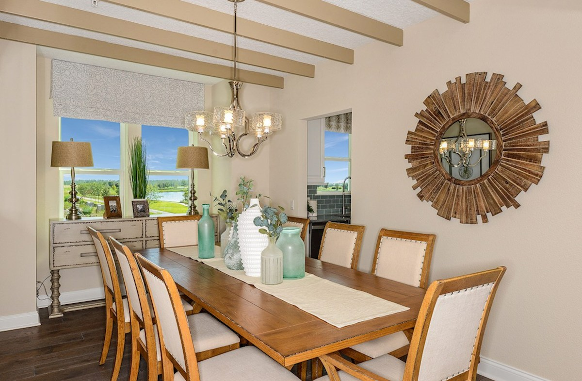 Gatherings® of Lake Nona Chestnut formal dining