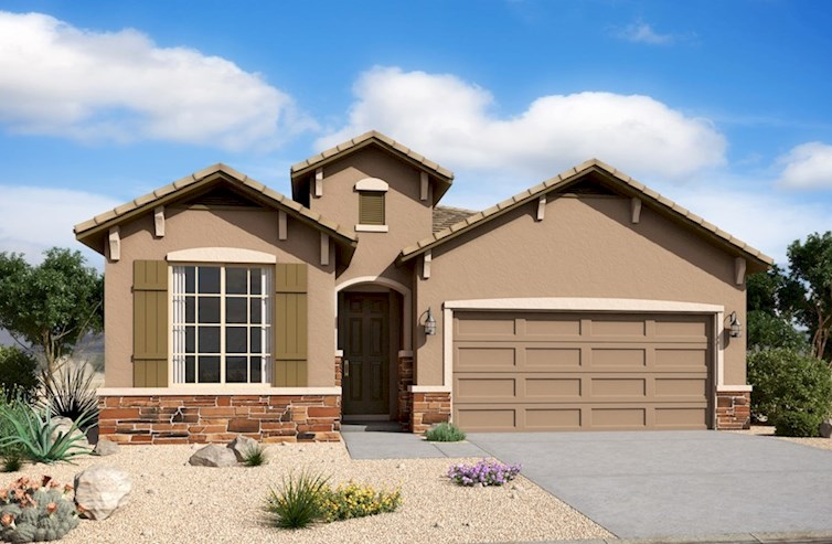 Chaparral Elevation French Country L