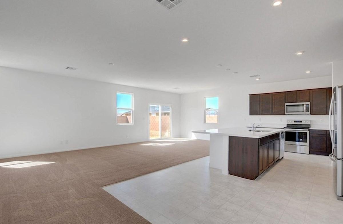 Sienna quick move-in Burson Enclave, Pahrump,NV. Sienna Great Room