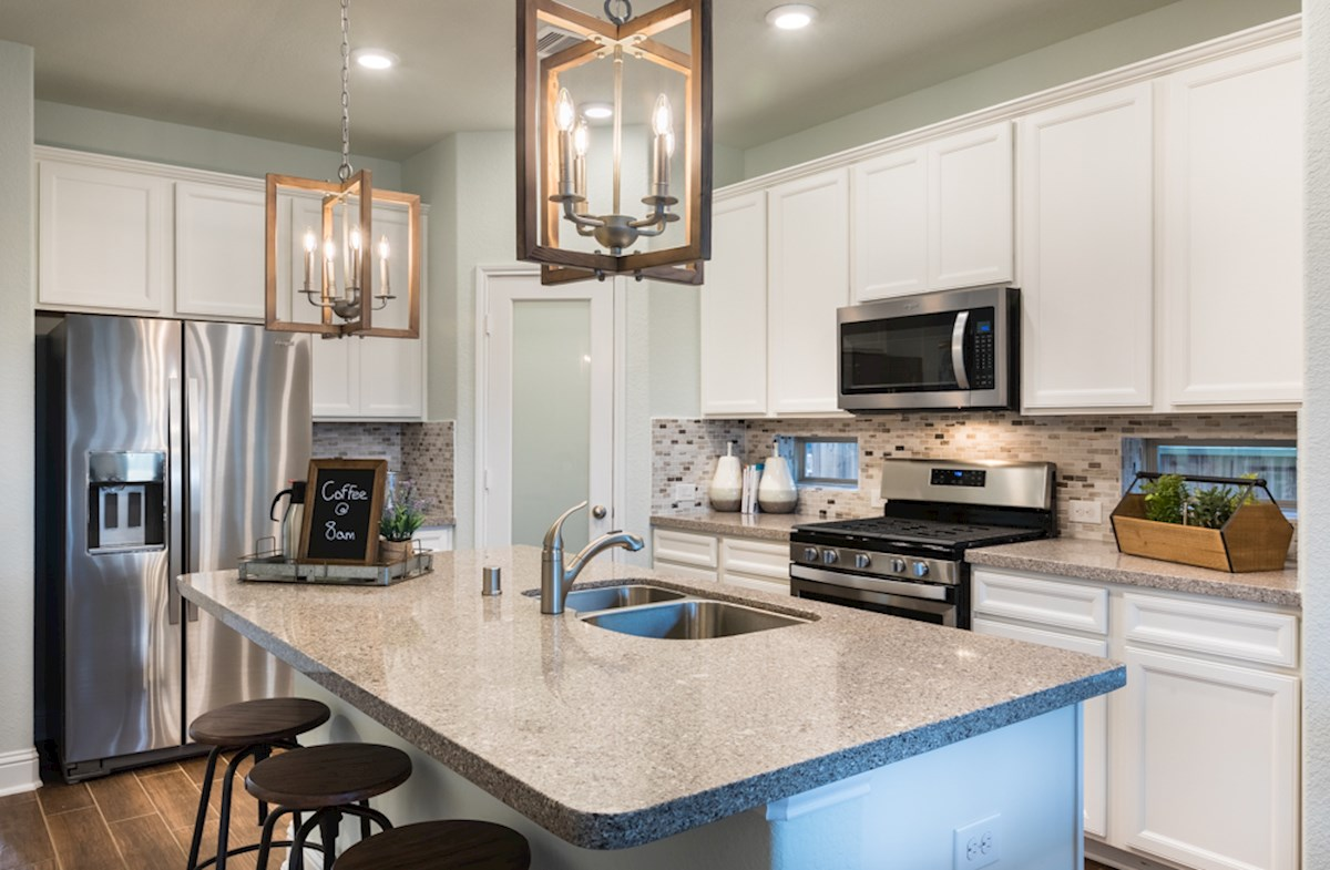 Franklin kitchen offers a large granite island