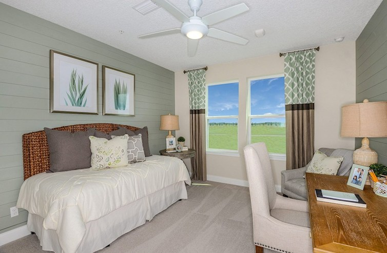Gatherings® of Lake Nona Chestnut secondary bedroom