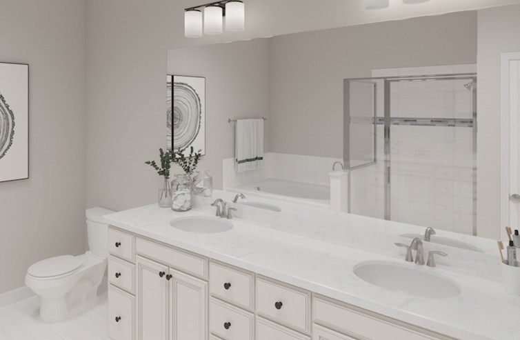 Gatherings® at Twin Creeks Clifton Clifton Master Bath