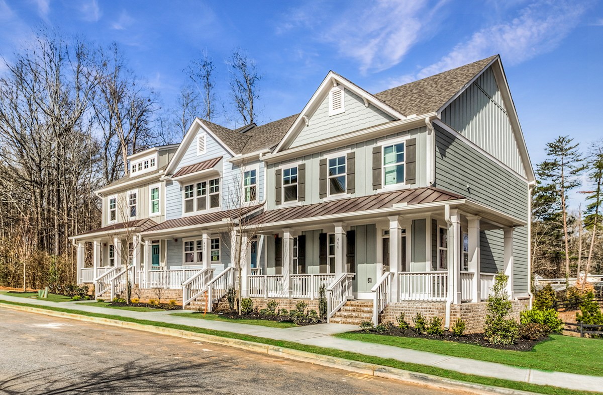 Single-family and Townhome Community