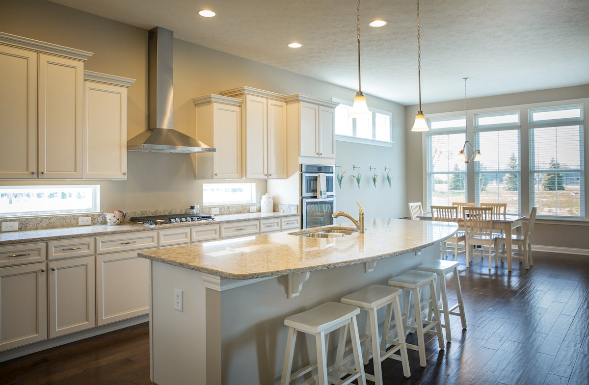 Cambridge kitchen boasts quartz counter tops