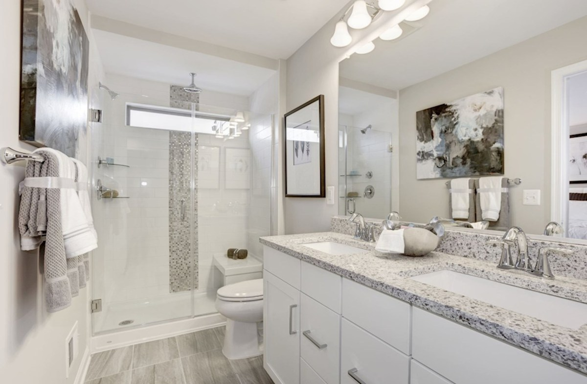 Enclave at Long Branch Alexander spacious bathroom