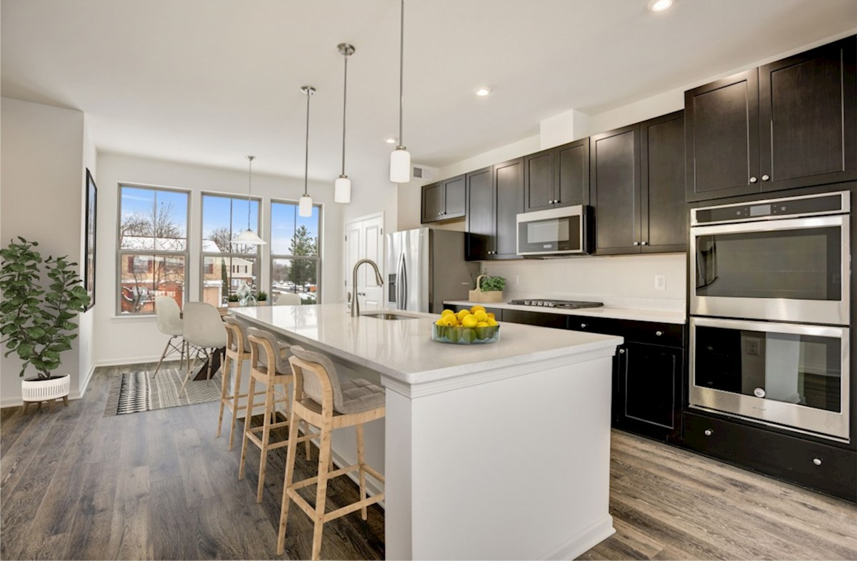 Kennedy quick move-in modern kitchen