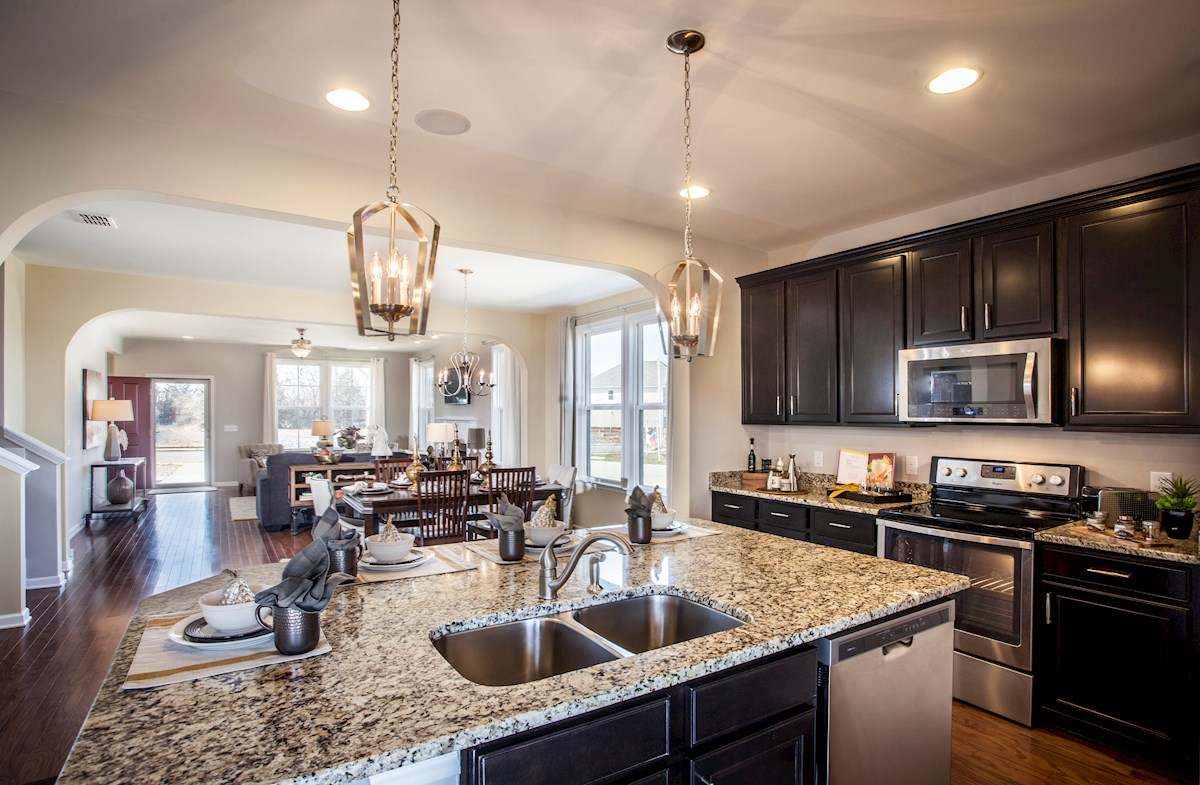 Nichols Vale Adelaide spacious kitchen with granite countertops