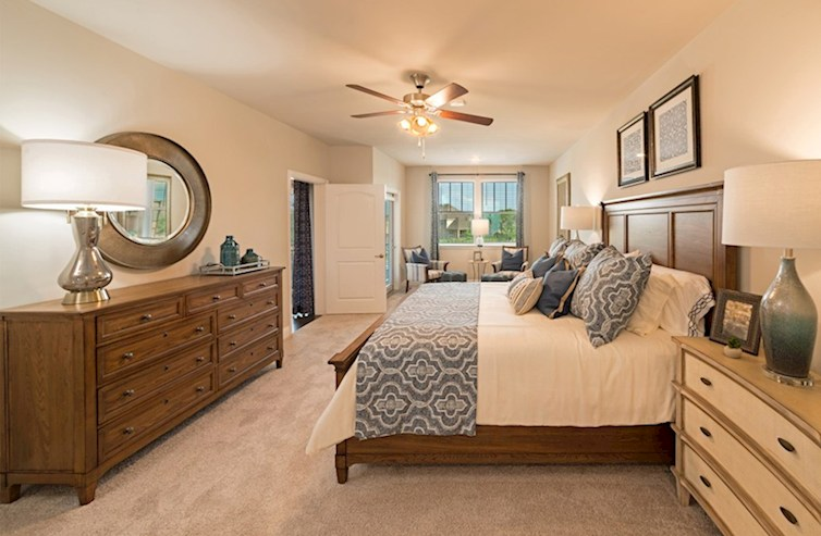 Gatherings® at Indian Lake Dorset oversized master bedroom