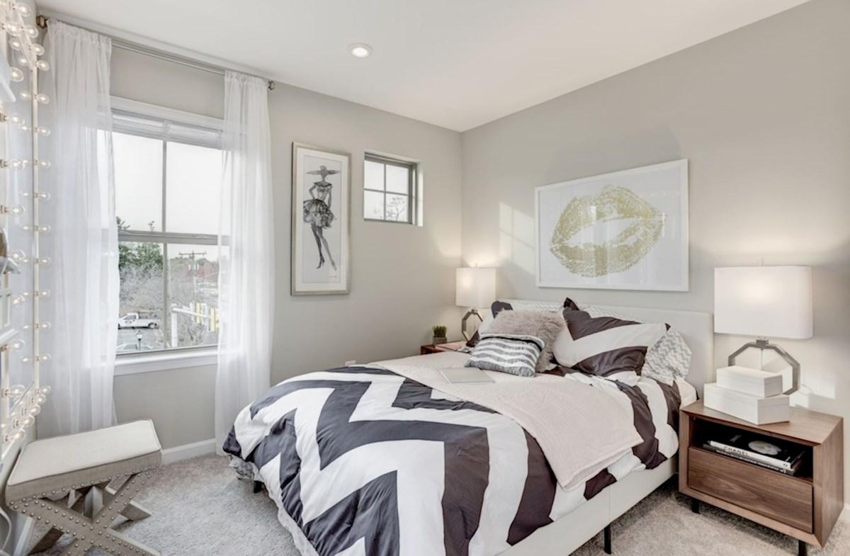 Enclave at Long Branch Belhaven carpeted bedroom