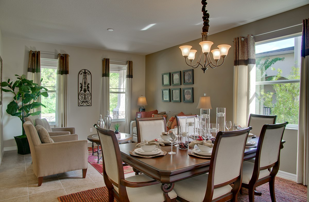 Reserve at Sawgrass St Augustine II formal living and dining room