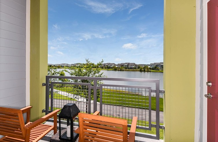 Gatherings® of Lake Nona Bradford balcony