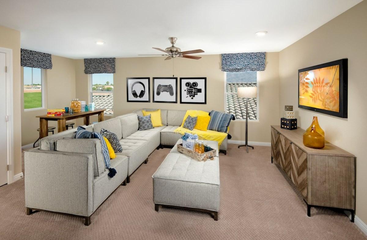 Dorrell Estates Sienna versatile space with the Sienna loft