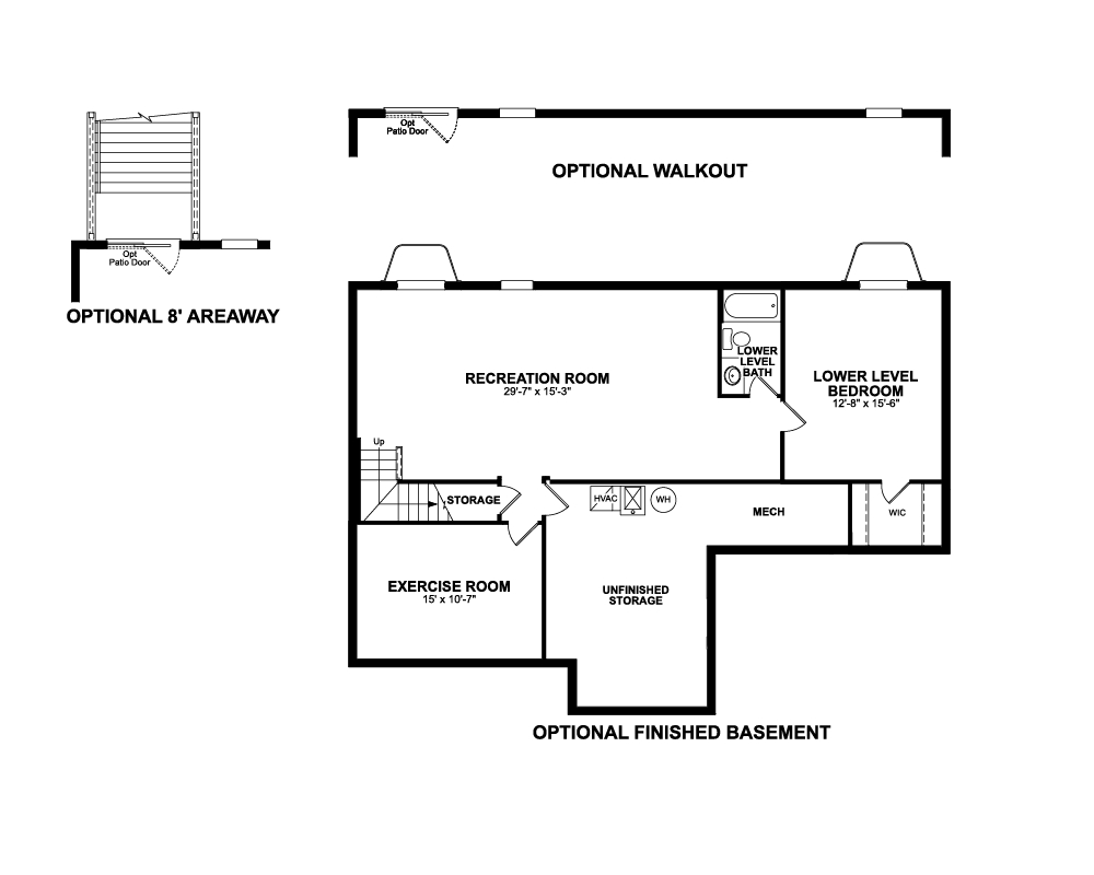 Paid options for Basement