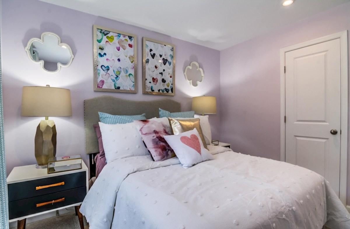 Enclave at Long Branch Belhaven cozy bedroom