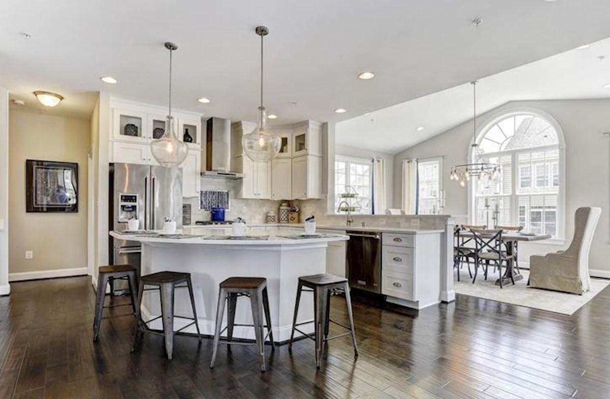 Wincopia Farms Brookview Kitchen designed with elegant features