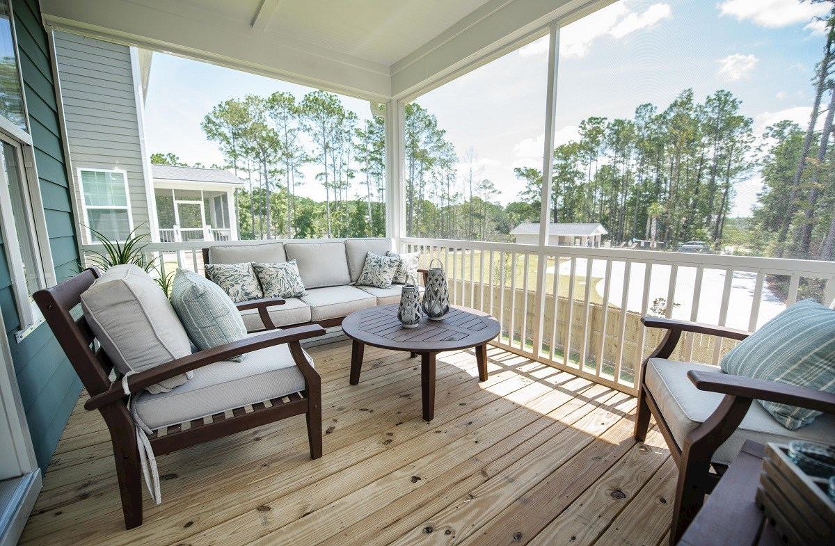 St. Thomas Preserve Archdale cozy screened porch