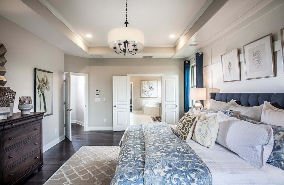 Enclave at Chadwick Lakes Amelia II offers spacious master suite