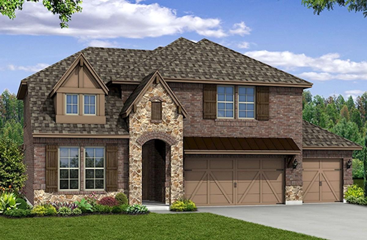 Summerfield Home Plan In Miramonte, Frisco, TX