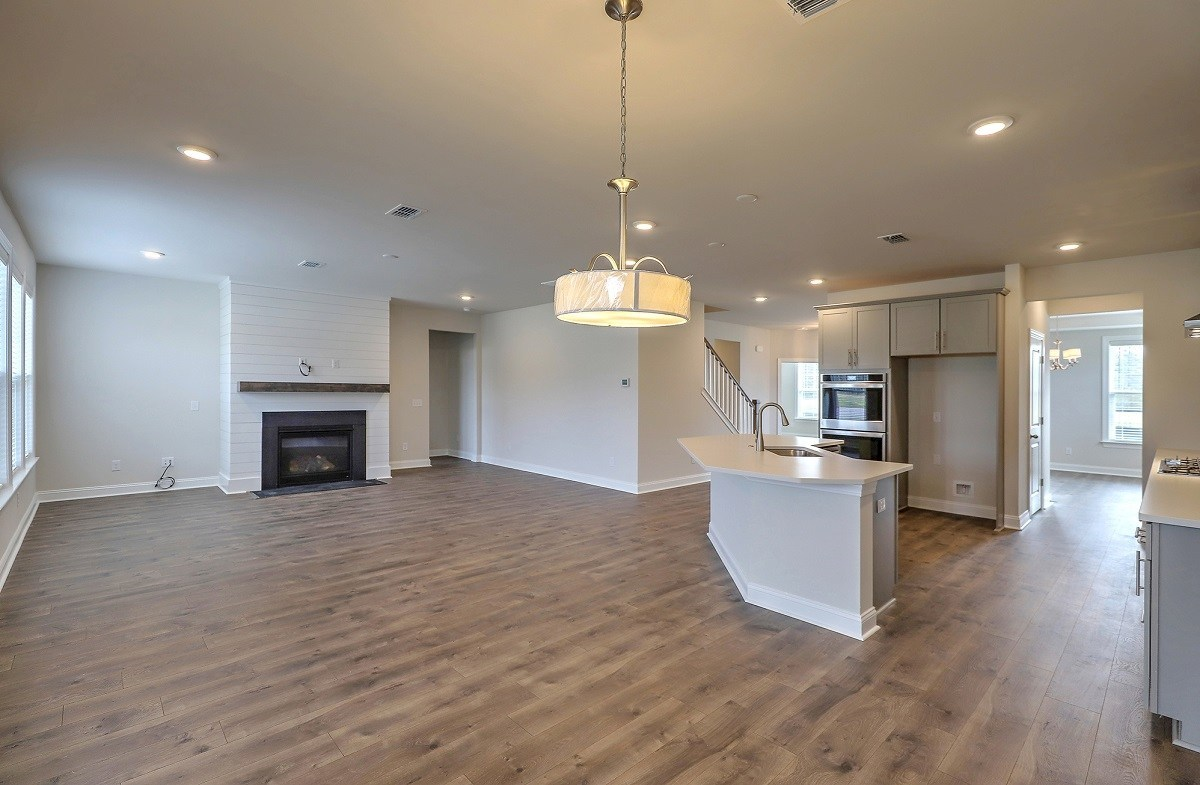 Jasmine Point at Lakes of Cane Bay Hickory open first floor