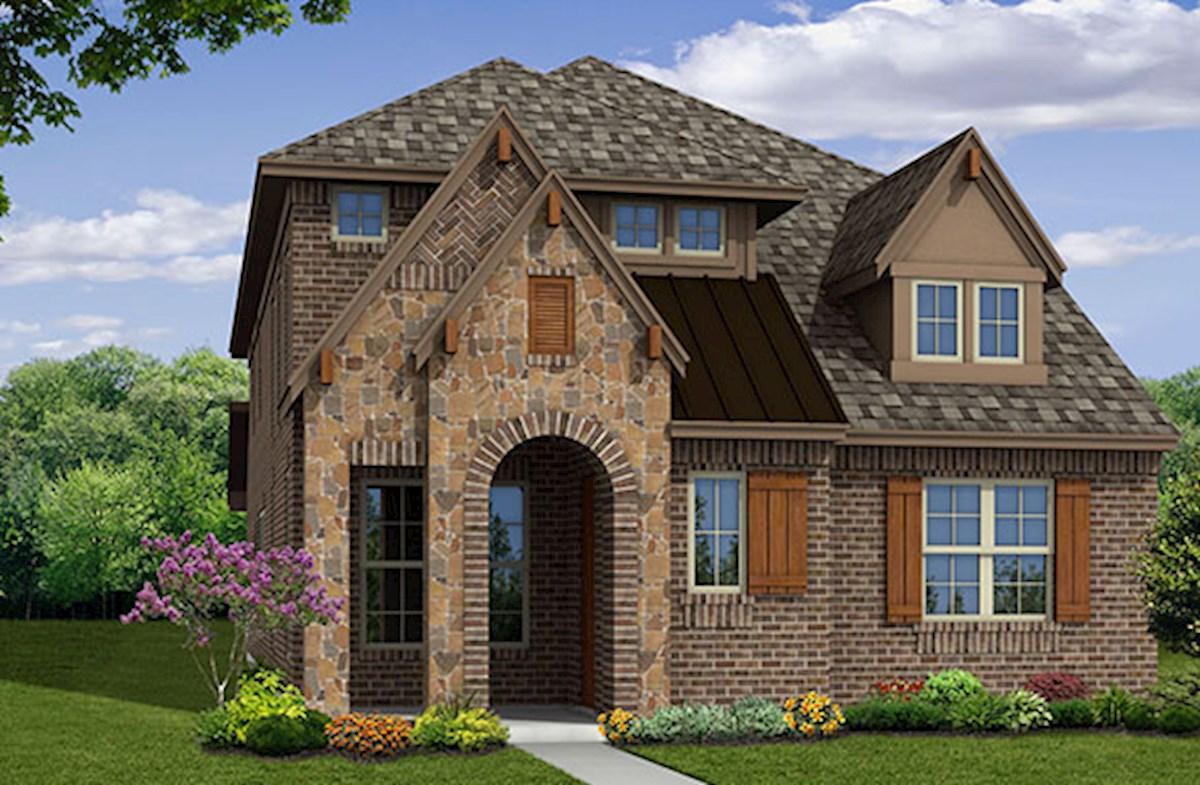 stone and brick exterior