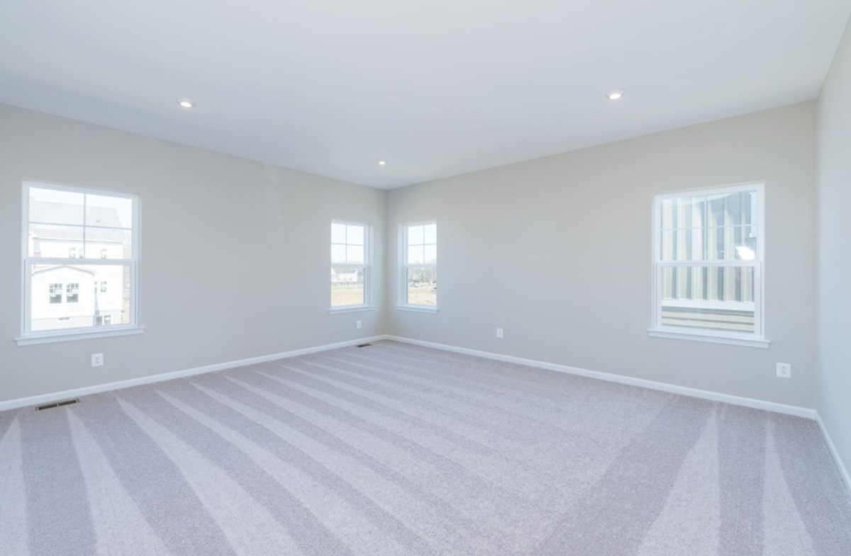 Willowsford Winslow carpeted bedroom