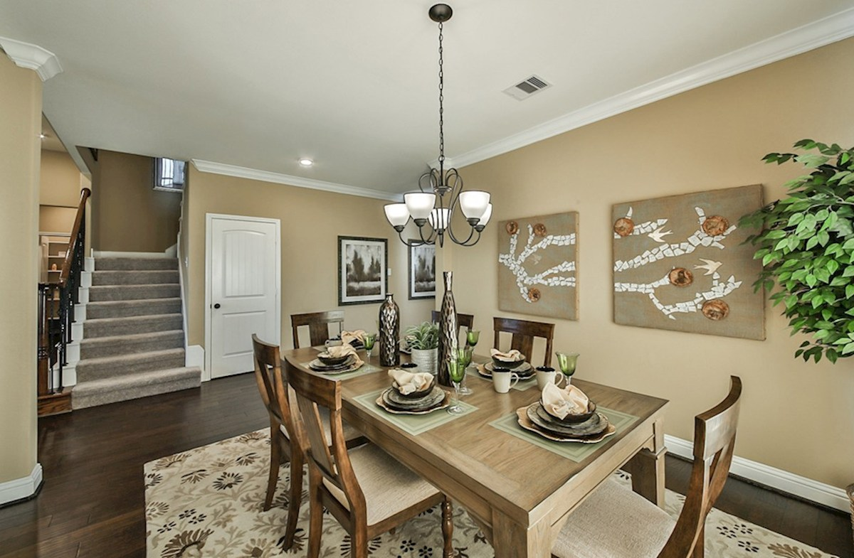 Galveston quick move-in Galveston formal dinning room with wood flooring