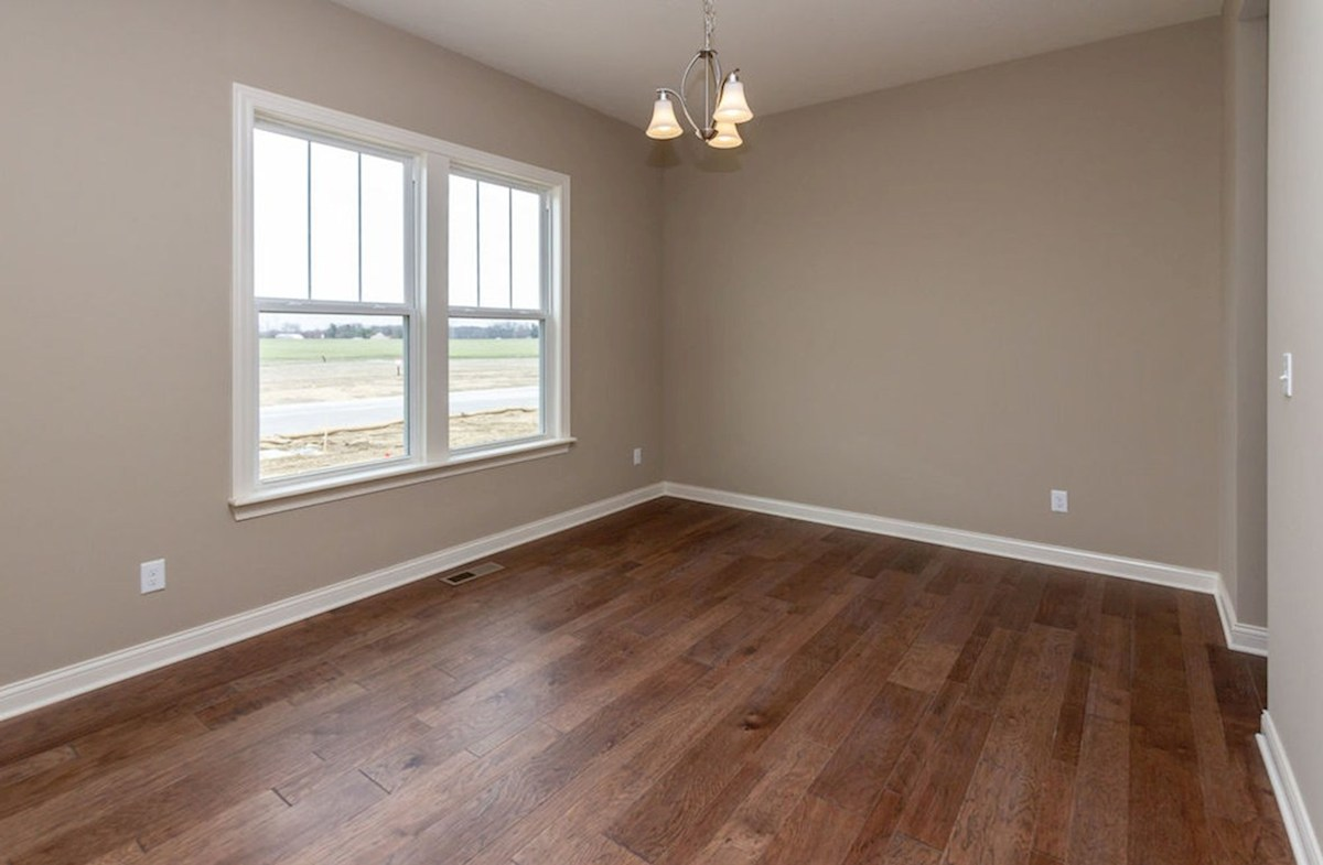 Kessler quick move-in Formal dining room with hardwood floors
