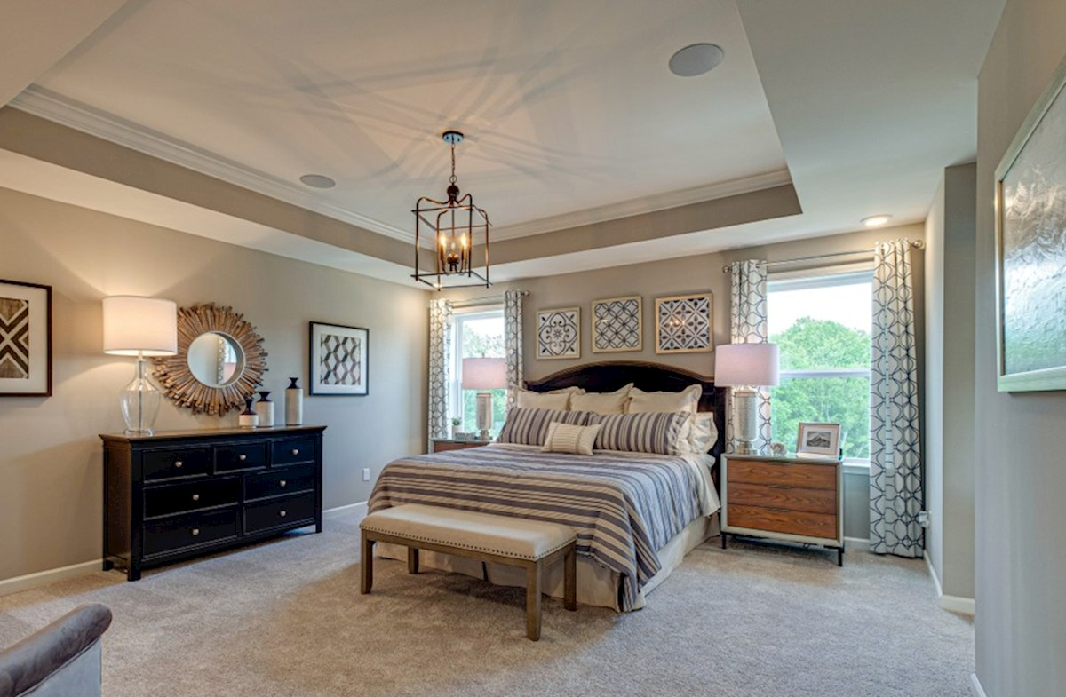 Hillwood Ashford cozy master bedroom