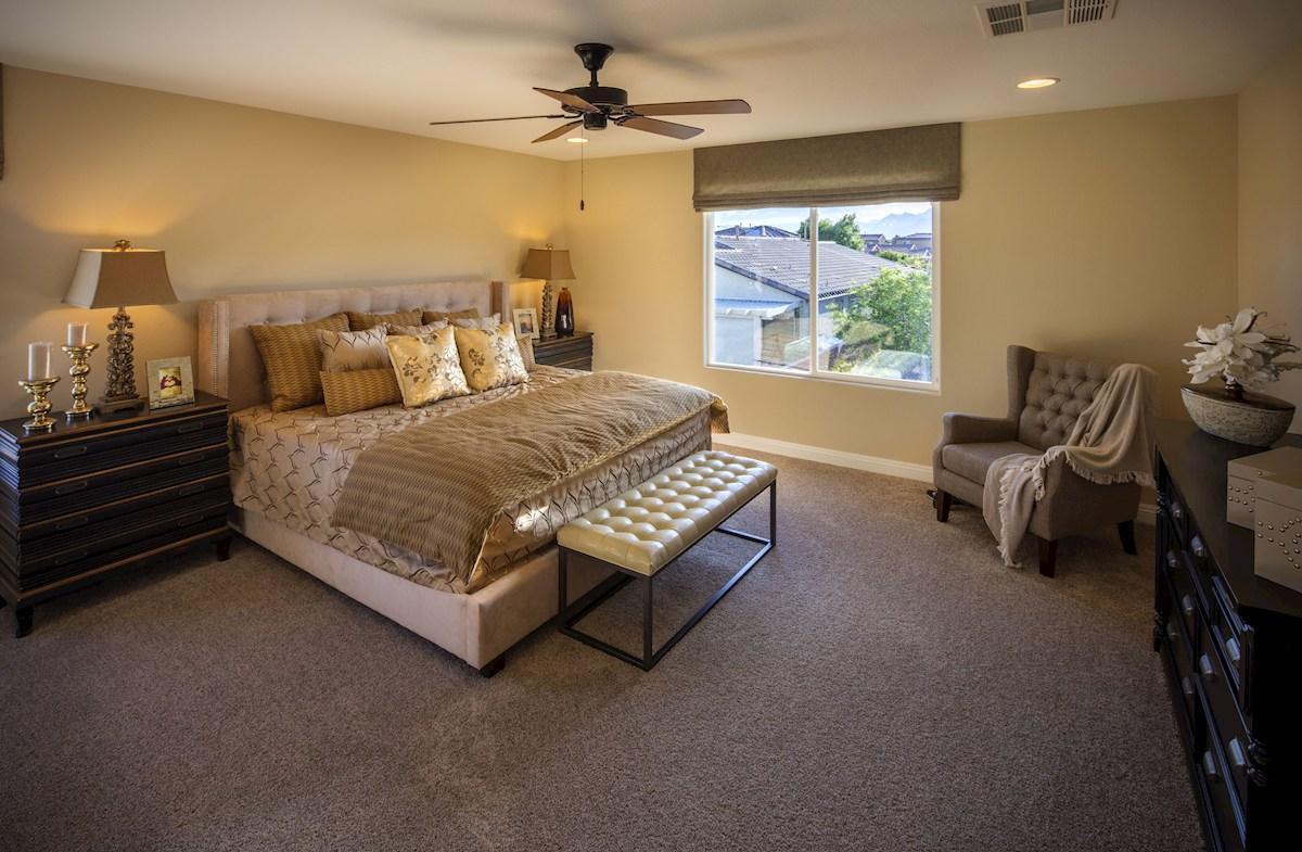 Dorrell Estates Sienna spacious master bedroom